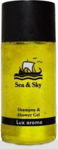 Sea and Sky σαμπουάν ΚΑΙ αφρόλουτρο 30ml μπουκαλάκι